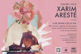 Xarim Aresté debuta con su banda en Mallorca
