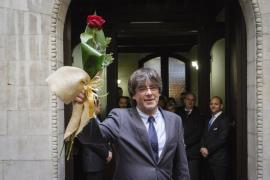 Puigdemont: «Rajoy es presidente en funciones, no me interesa lo que diga un proyecto que se acaba»