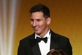 Messi se lleva su quinto Balón de Oro