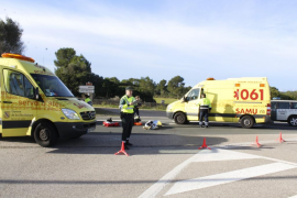 Mueren dos personas, de 27 y 34 años, en un accidente de moto en Son Serra
