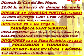 Es Fortí celebra Sant Sebastià 2016