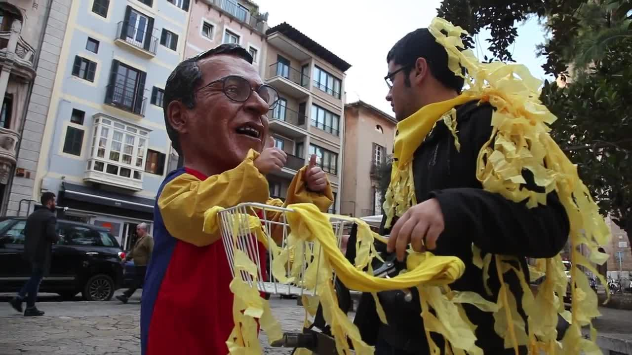 Orgull Llonguet insta a decorar Palma de amarillo por Sant Sebastià