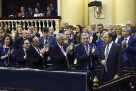 PP, PSOE y PNV forman la Mesa del Senado