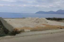 El Gob denuncia un vertido ilegal en un solar de dominio público en Son Serra