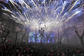 Sólo 15.000 personas podrán acceder a la plaza de sa Pobla por Sant Antoni