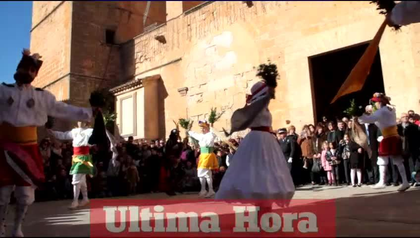 Los Cossiers de Algaida salen en danza por Sant Honorat