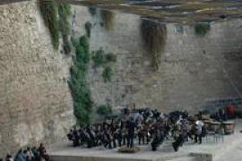 Las bandas de música de Palma se reúnen en la 'Trobada Sant Sebastià'