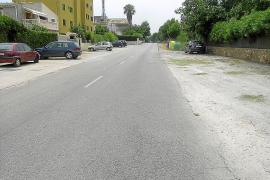 La mitad de las calles de Cala Millor no tiene la placa que indique su nombre