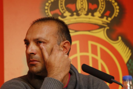 El Real Mallorca destituye a Pepe Gálvez