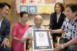 Muere con 112 años el hombre más longevo del mundo en Japón