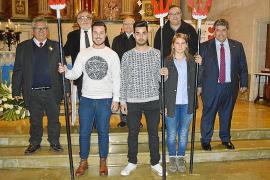 Elección del 'clamater' de Sant Antoni en sa Pobla