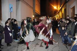 Nuevos 'cavallets' en Pollença para festejar Sant Sebastià