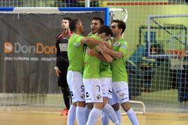 El Palma Futsal sigue imparable y encadena cinco victorias