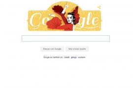 Google homenajea a Lola Flores  por el 93 aniversario de su nacimiento