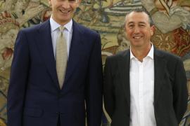 Baldoví dice que el Rey maneja la opción de que Rajoy no opte a la investidura