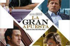 'La gran apuesta', un drama sobre la crisis disfrazado de humor, irrumpe en los cines de Mallorca