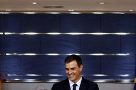 Sánchez: «Si Rajoy fracasa el PSOE hará todo lo posible para formar Gobierno»