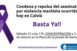 El Ajuntament de Calvià convoca una concentración en Santa Ponça