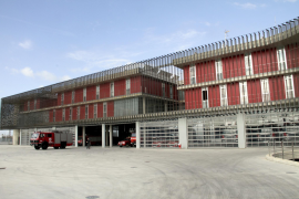 Presentación del nuevo parque de bomberos.