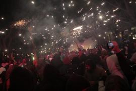 Multitudinario Correfoc de Sant Sebastià 2016