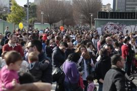 Sant Sebastià Petit desborda el Parc de ses Estacions