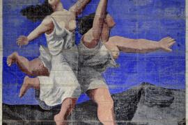 Se expone en Londres el gran telón de Picasso