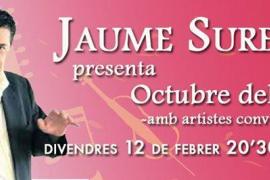 Jaume Sureda presentará 'Octubre del 59' en Espai Xocolat