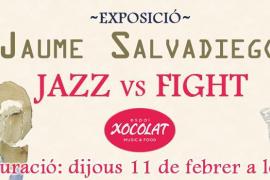 Exposición de Jaume Salvadiego en Espai Xocolat