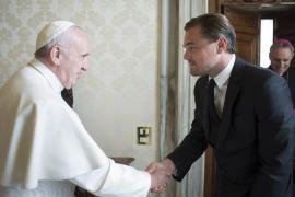 El papa Francisco recibió al actor estadounidense Leonardo Di Caprio