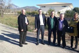 La estación de tren de Consell contará con un nuevo aparcamiento con 71 plazas