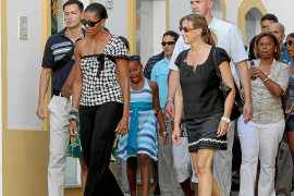 Michelle Obama, descanso andaluz