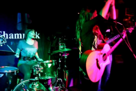 Jam session con Patti Ballinas en el Shamrock