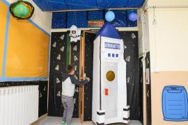 Concurso decoración puertas del colegio Balansat