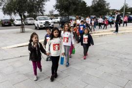 Día de la Paz en los colegios de las Pitiüses