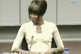 Campbell reconoce que recibió diamantes sin pulir y asumió que eran de Taylor