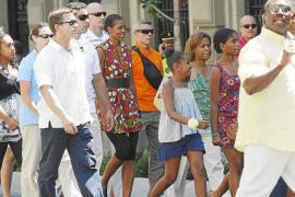 Michelle Obama descubre Granada en una jornada maratoniana