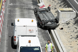 PALMA SUCESOS ACCIDENTE VIA DE CINTURA