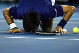 Djokovic: «Estoy encantado de haber igualado el récord de Emerson de seis victorias en Australia»