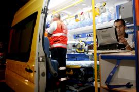 Hospitalizados dos deportistas tras sufrir un accidente de parapente en Bunyola