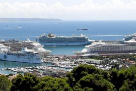 Récord histórico de cruceros en Palma