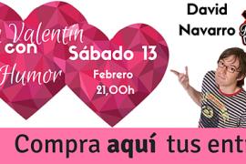 Celebra San Valentín con el humor de David Navarro y Javier Nácher
