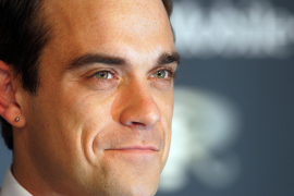 Robbie Williams se casó en su casa de Los Angeles