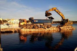 Salvem Portocolom denuncia que la construcción de la rampa significa la privatización del paseo