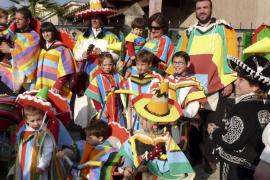 Celebración del carnaval en Inca