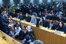 Sánchez: «Si Rajoy renuncia, el PSOE dará un paso al frente»