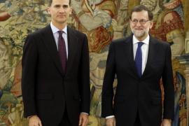 Concluye la reunión entre el Rey y Rajoy