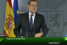 Rajoy comunica a Felipe VI que no tiene mayoría para ser presidente