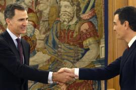 El Rey encarga a Pedro Sánchez la formación de Gobierno