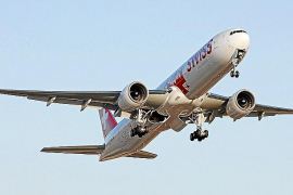AENA modificará la ruta de los vuelos de prácticas para evitar núcleos urbanos
