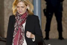 La Infanta ve vulnerado su derecho a la defensa en el caso Nóos